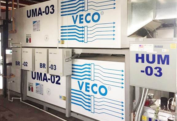 Unidad manejadora de aire VECO2